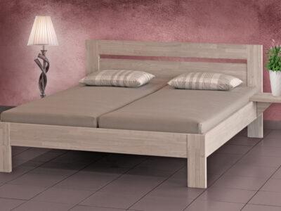 Celomasiv postel kaučuk acero